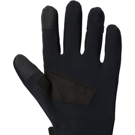 Mountain Hardwear WindLab Gore-Tex Infinium Guantes Elásticos, negro